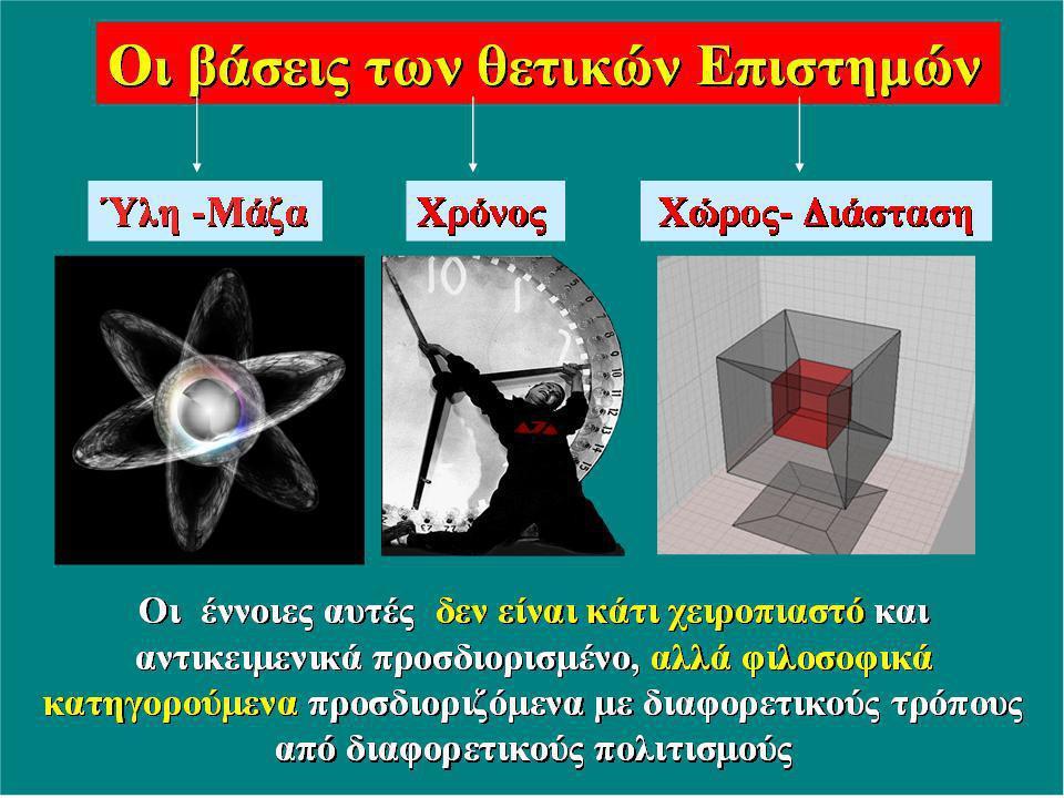 Βάσεις - Φιλοσοφική θεμελίωση των Θετικών Επιστημών.