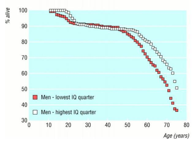 Αύξηση νοημοσύνης εως και 20 μονάδες IQ.