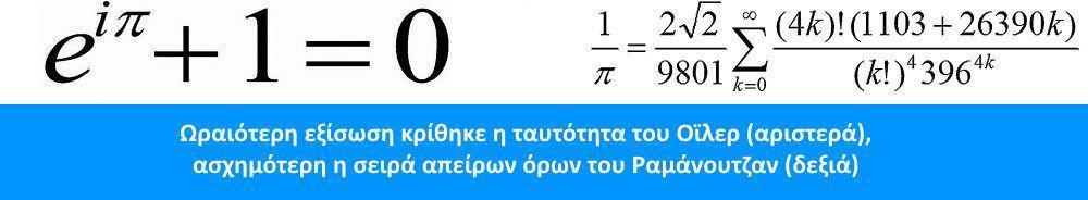 Οι εξισώσεις στον τομογράφο Ramanujan Euler